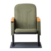 Rom ahşap kol yazı tablalı içten çıkmalı konferans koltugu