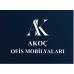 martin kapalı kol yazı tablalı konferans koltugu